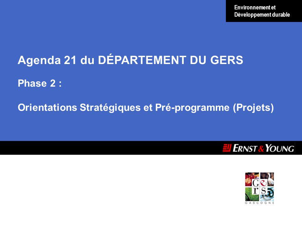 Agenda 21 du DÉPARTEMENT DU GERS