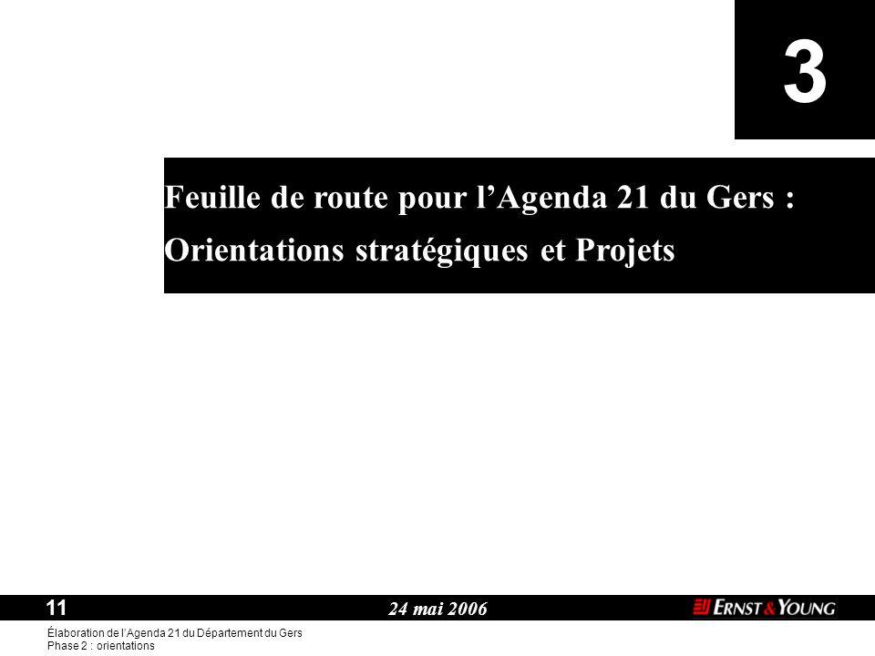 3 Feuille de route pour l'Agenda 21 du Gers :