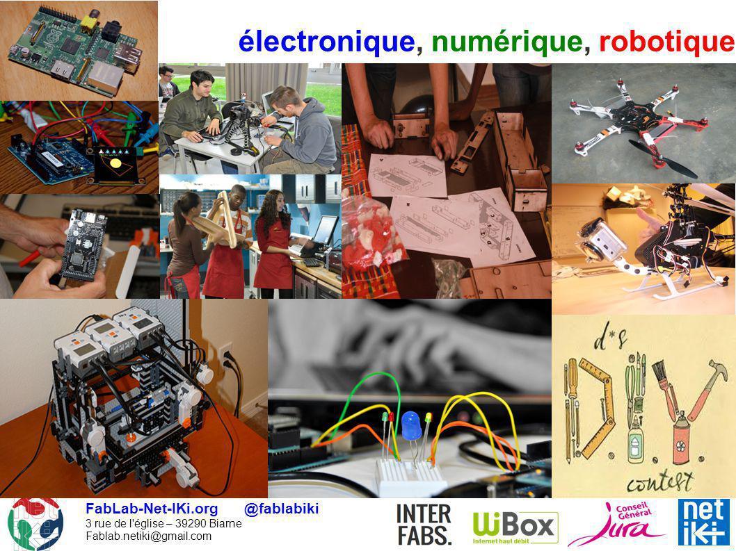 électronique, numérique, robotique