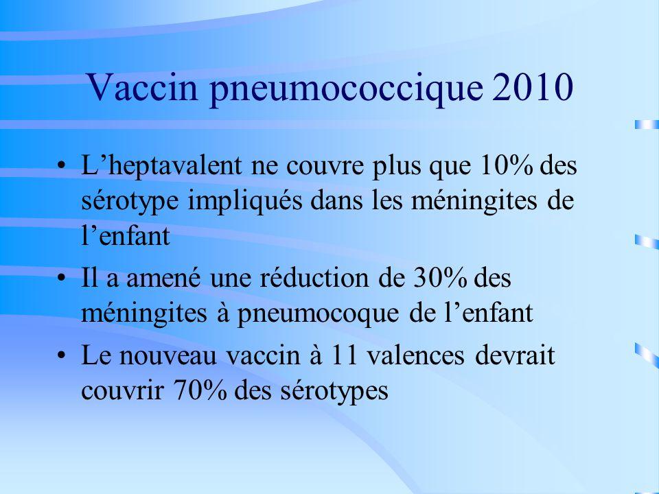 Vaccin pneumococcique 2010