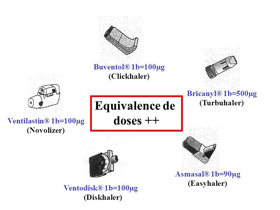 Equivalence de doses ++