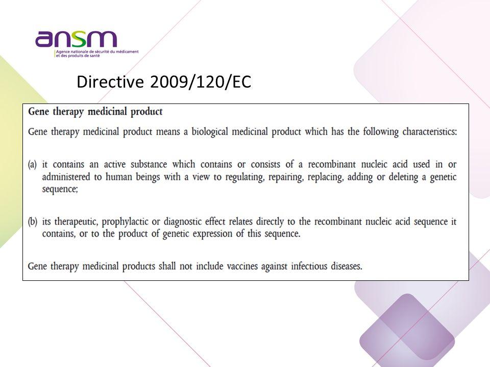 Directive 2009/120 EC