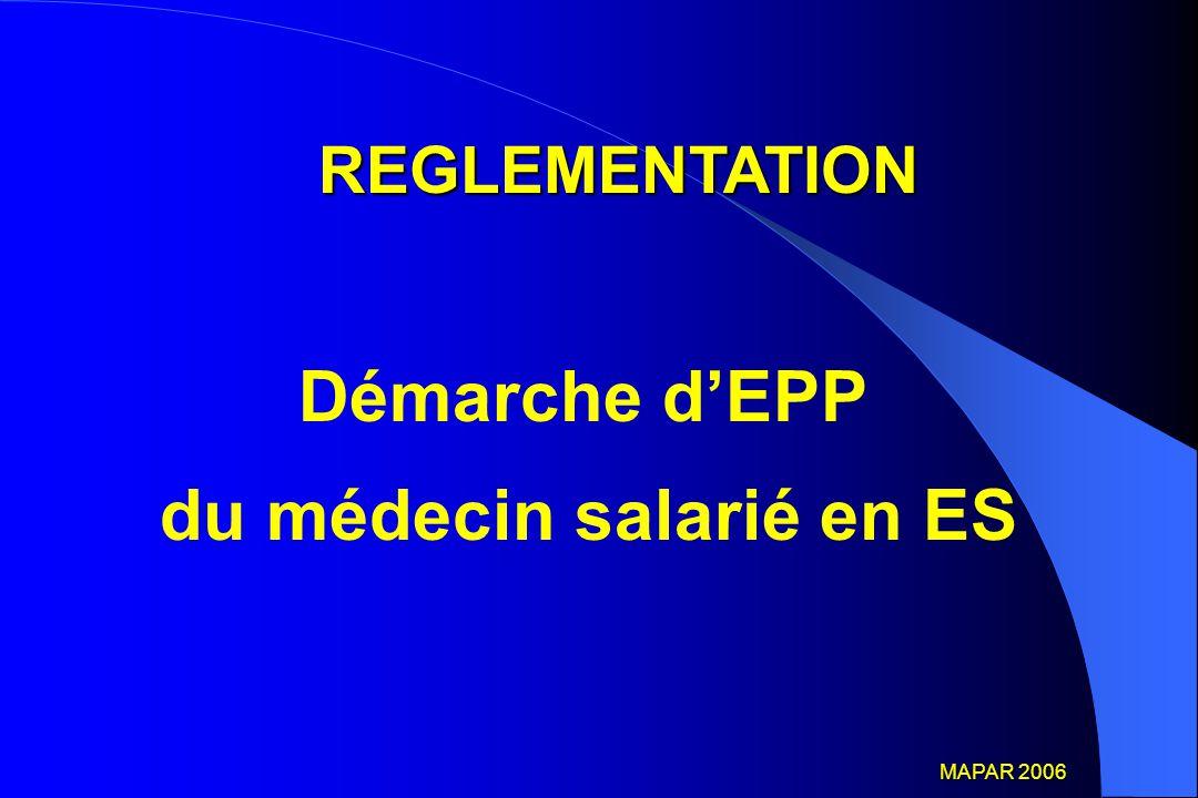du médecin salarié en ES