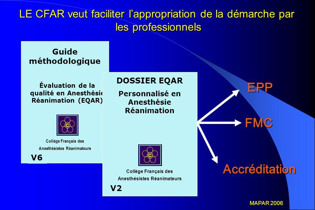 LE CFAR veut faciliter l'appropriation de la démarche par