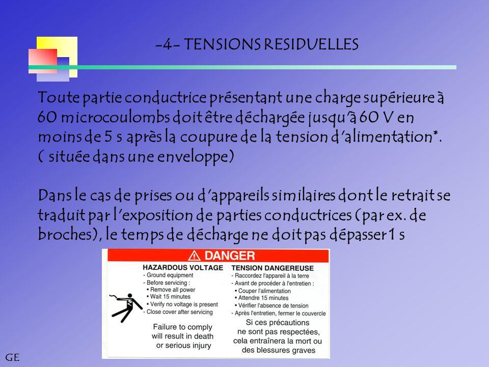 -4- TENSIONS RESIDUELLES