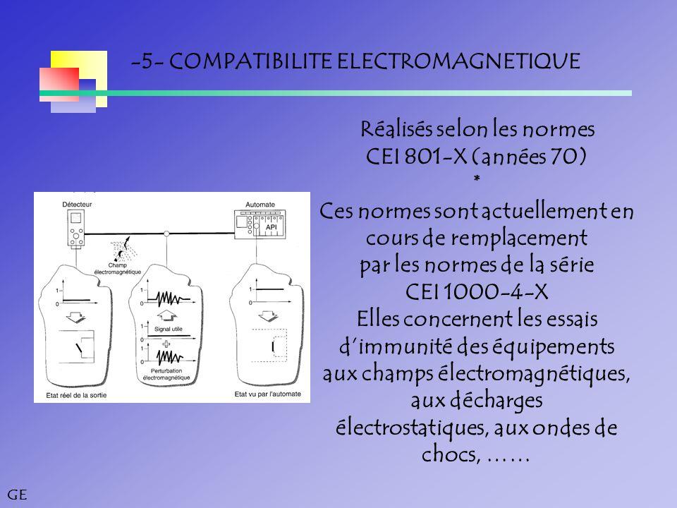 -5- COMPATIBILITE ELECTROMAGNETIQUE