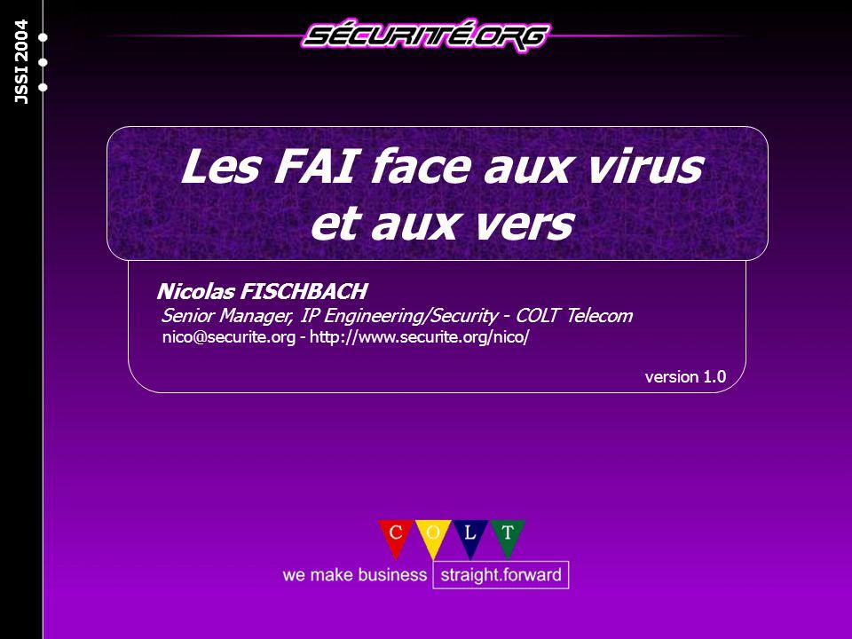 Les FAI face aux virus et aux vers