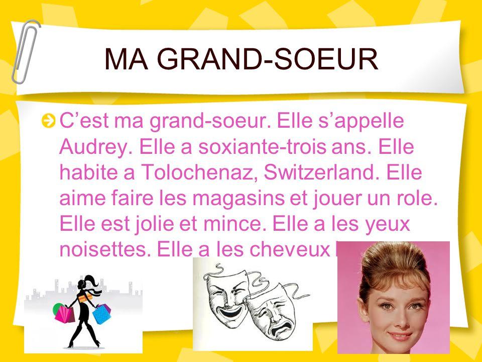 MA GRAND-SOEUR