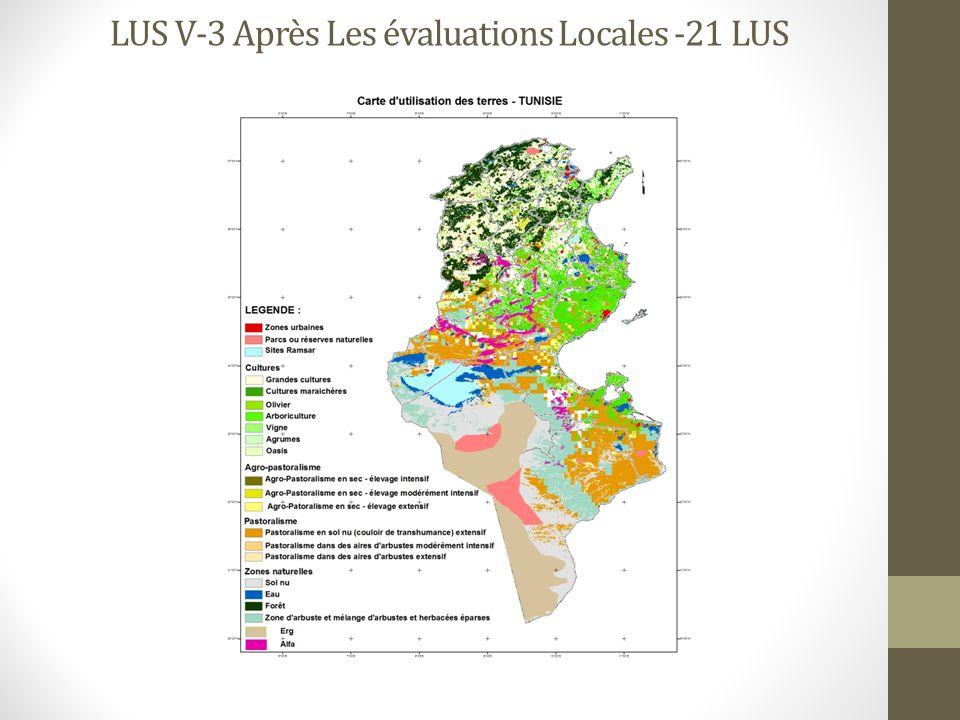 LUS V-3 Après Les évaluations Locales -21 LUS