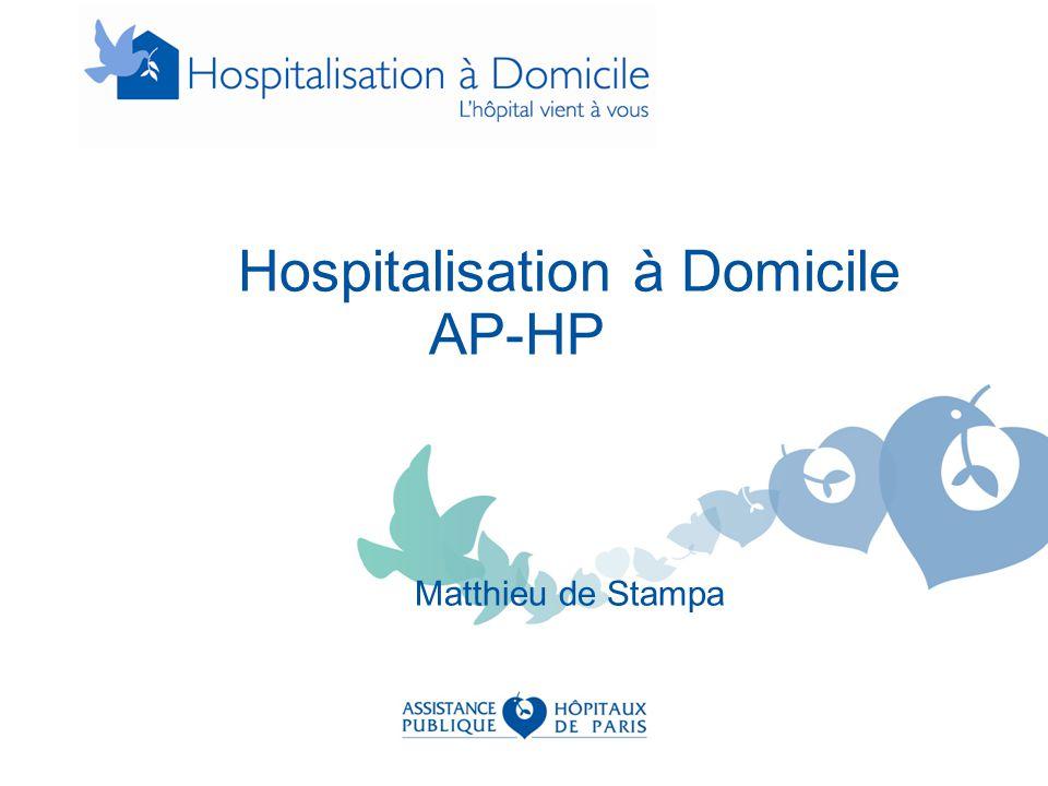 Hospitalisation à Domicile AP-HP Matthieu de Stampa