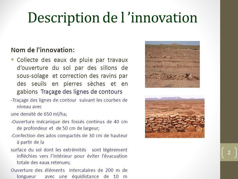 Description de l 'innovation
