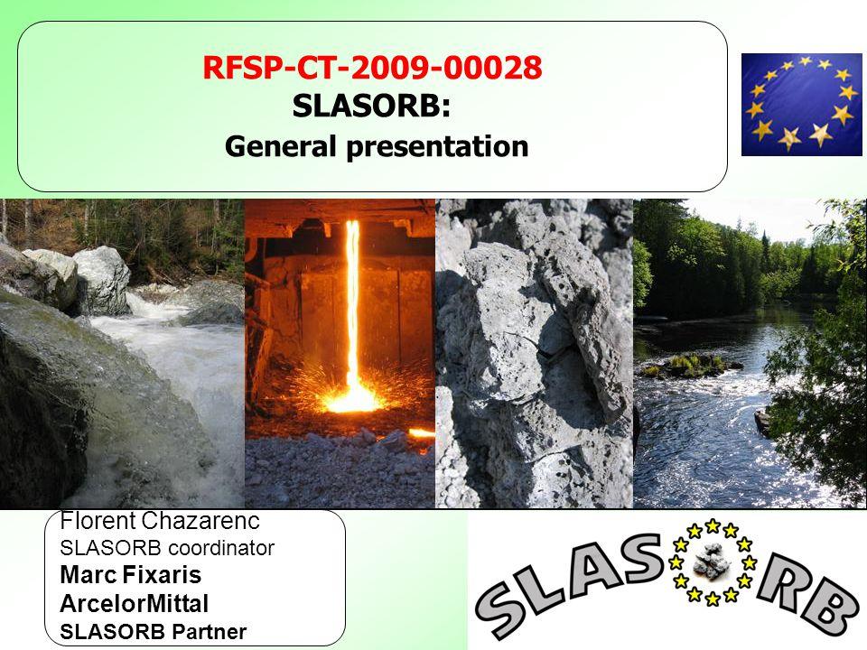 General presentation RFSP-CT-2009-00028 SLASORB: Florent Chazarenc