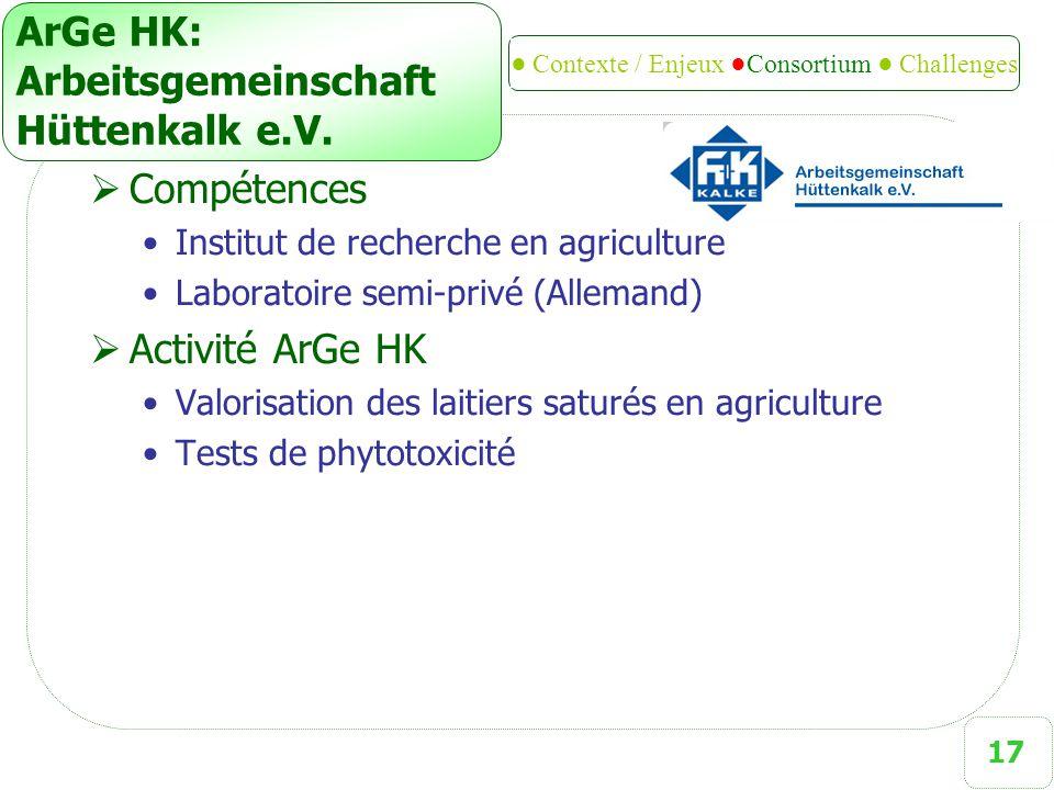 ArGe HK: Arbeitsgemeinschaft Hüttenkalk e.V.