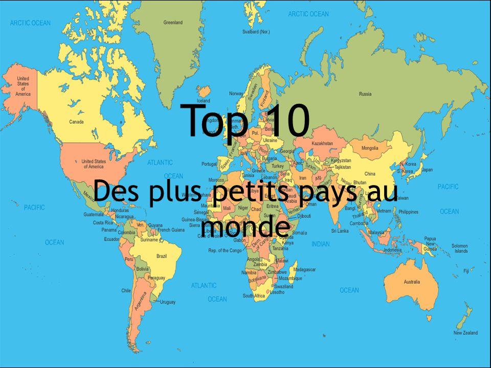 Des plus petits pays au monde