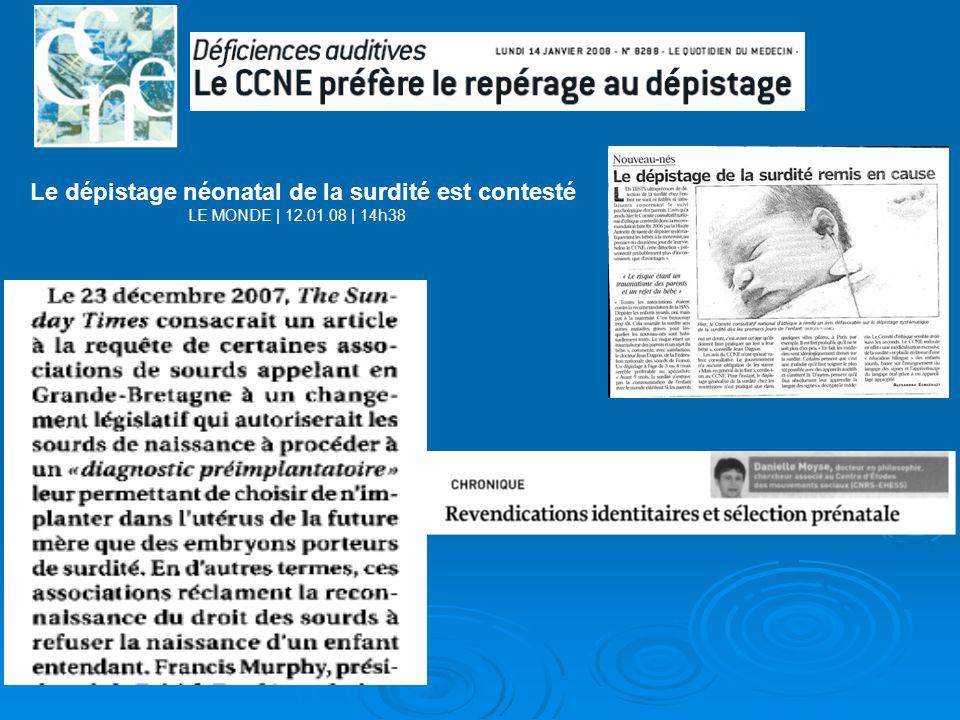 Le dépistage néonatal de la surdité est contesté