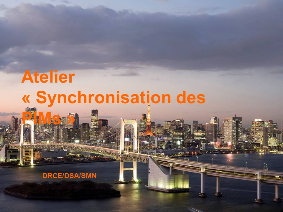 Atelier « Synchronisation des PIMs »