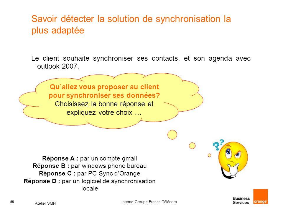 Savoir détecter la solution de synchronisation la plus adaptée