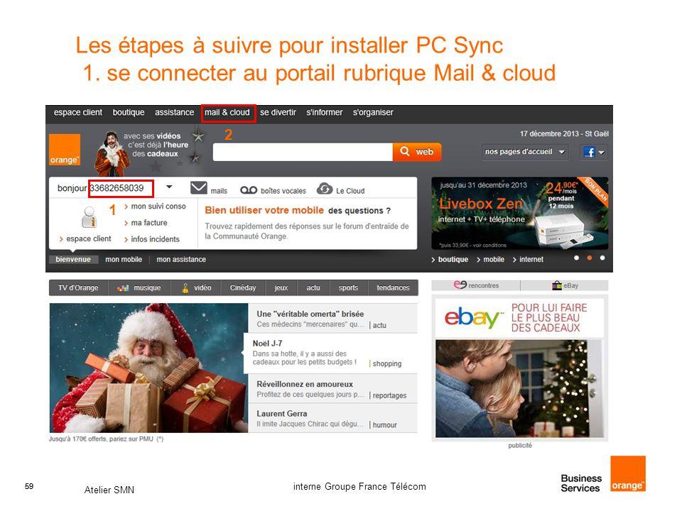 Les étapes à suivre pour installer PC Sync 1