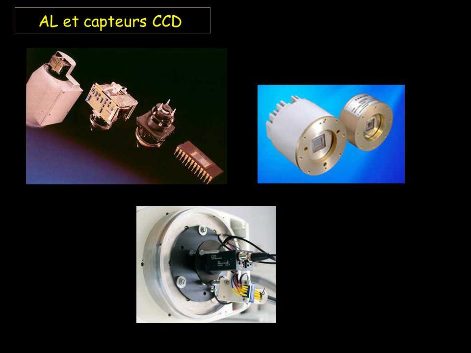 AL et capteurs CCD