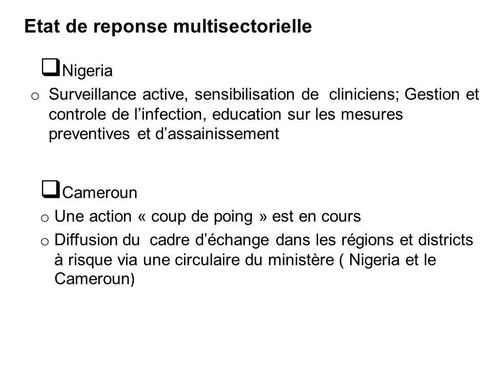 Etat de reponse multisectorielle