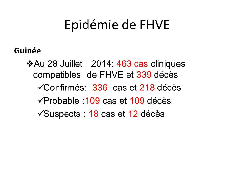 Epidémie de FHVE Guinée