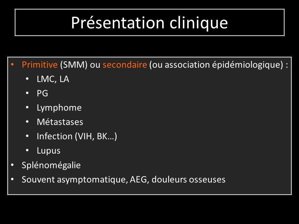 Présentation clinique