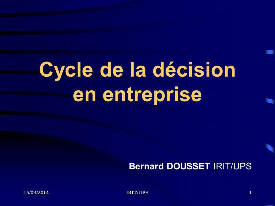 Cycle de la décision en entreprise
