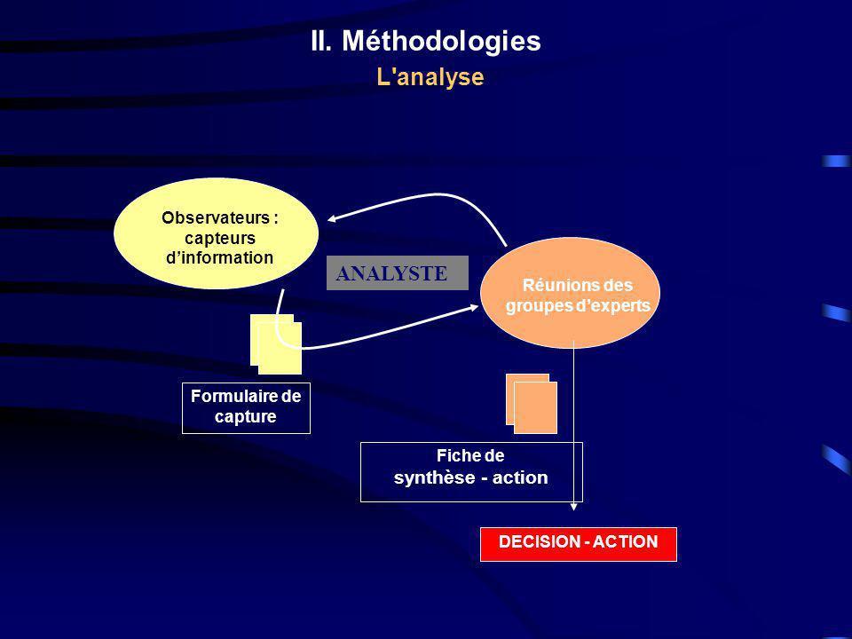 II. Méthodologies L analyse