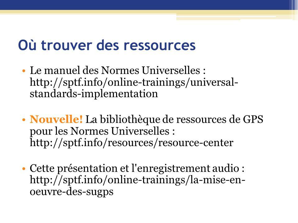 Où trouver des ressources