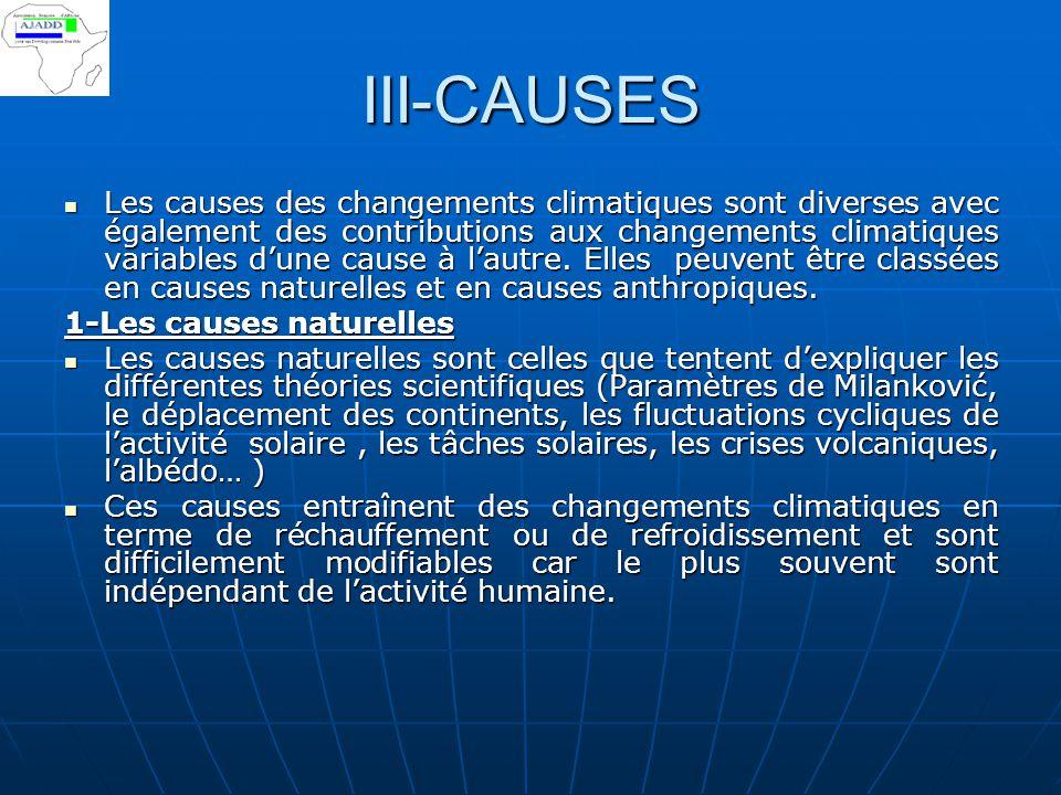 III-CAUSES
