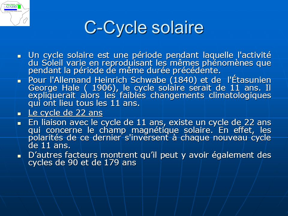 C-Cycle solaire