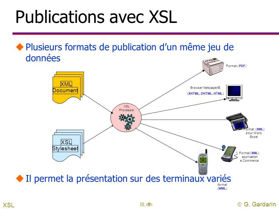 Format (XML) pour Word, Excel