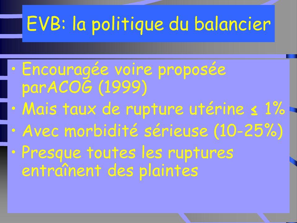 EVB: la politique du balancier