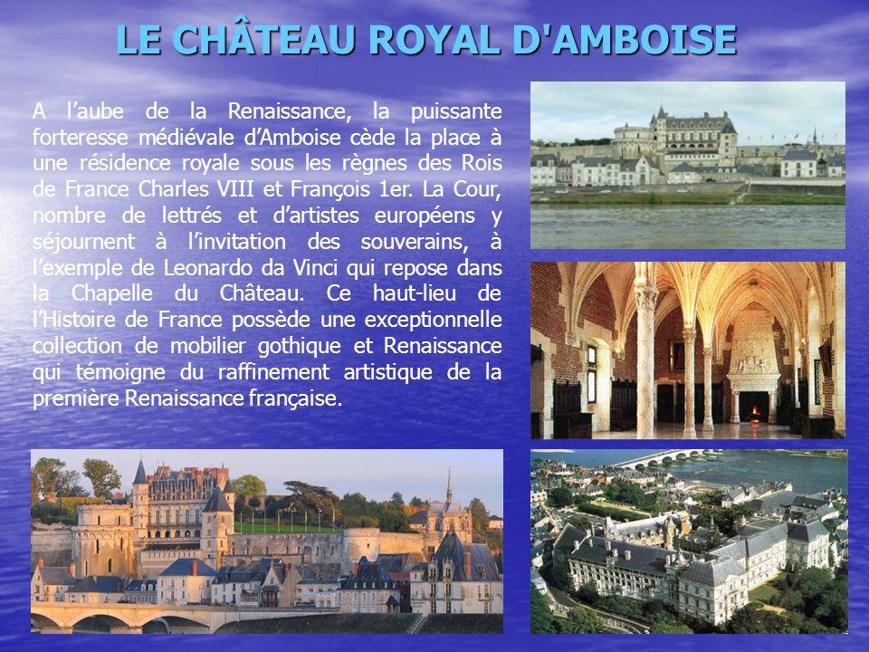 LE CHÂTEAU ROYAL D AMBOISE