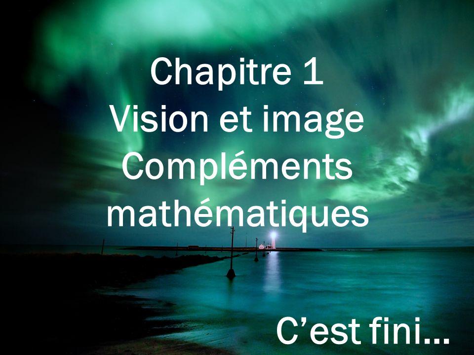 Compléments mathématiques