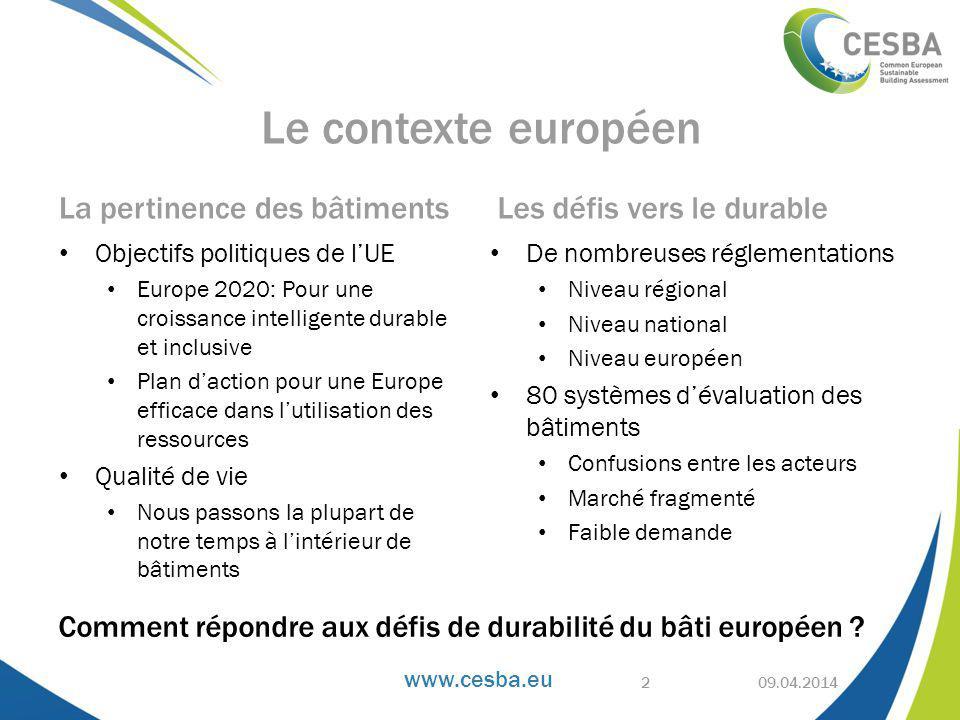 Comment répondre aux défis de durabilité du bâti européen