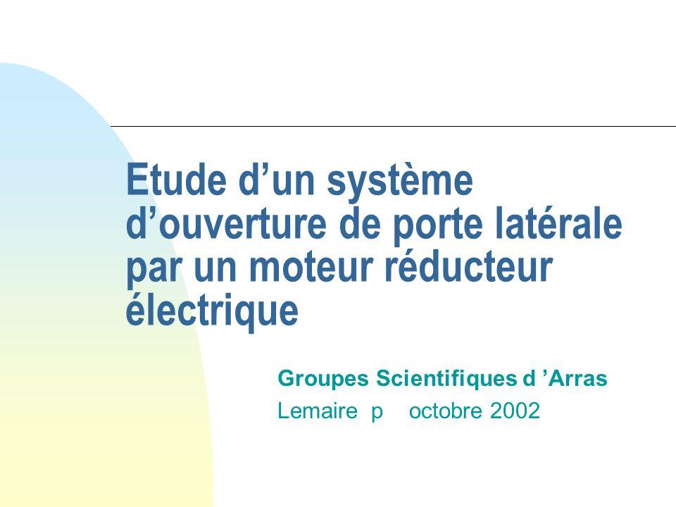Groupes Scientifiques d 'Arras Lemaire p octobre 2002