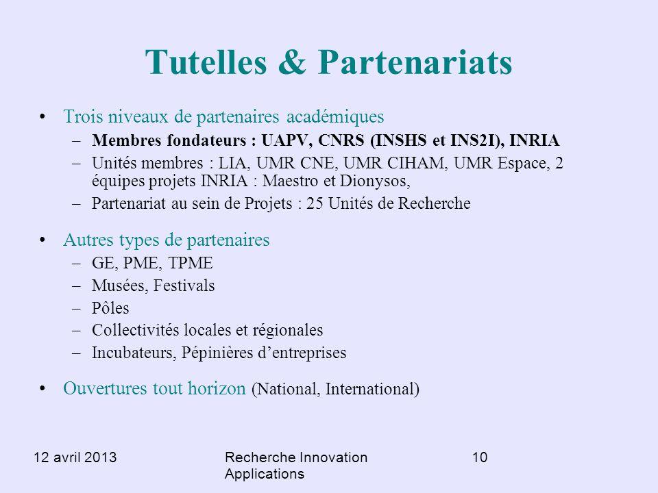 Tutelles & Partenariats
