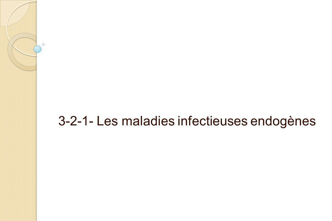 3-2-1- Les maladies infectieuses endogènes