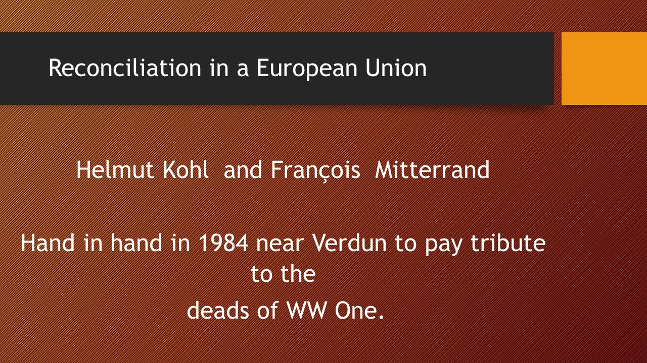 Reconciliation in a European Union