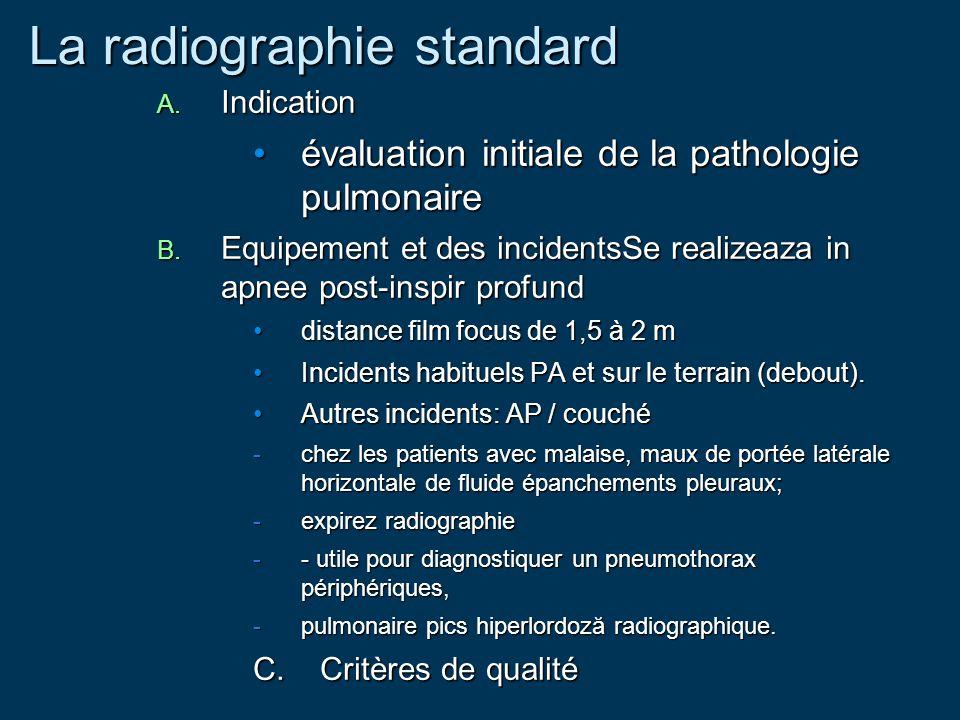 La radiographie standard