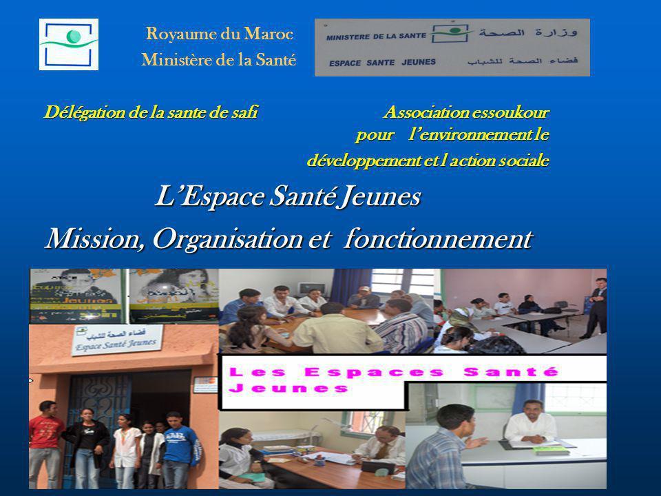 Mission, Organisation et fonctionnement
