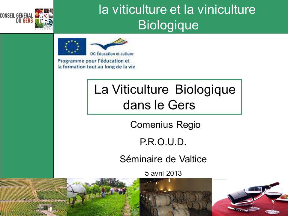 la viticulture et la viniculture Biologique