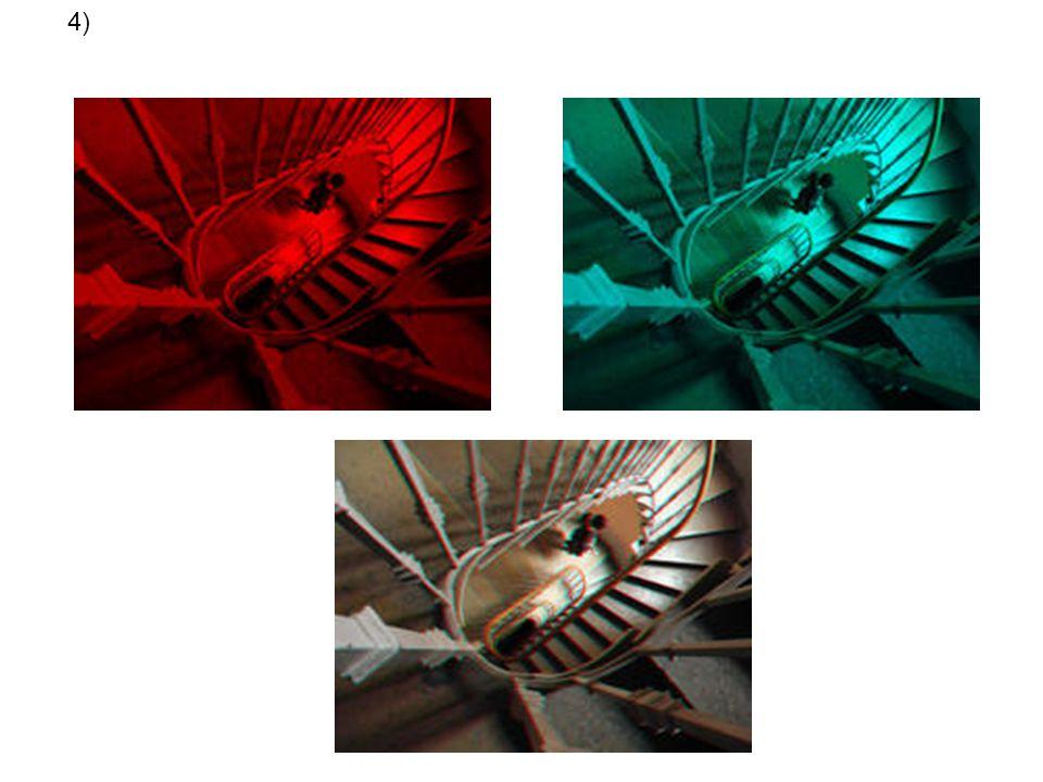 4) 2 images G D superposées à l'impression ou à l'écran…