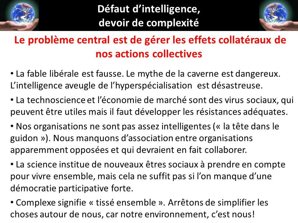 Défaut d'intelligence,