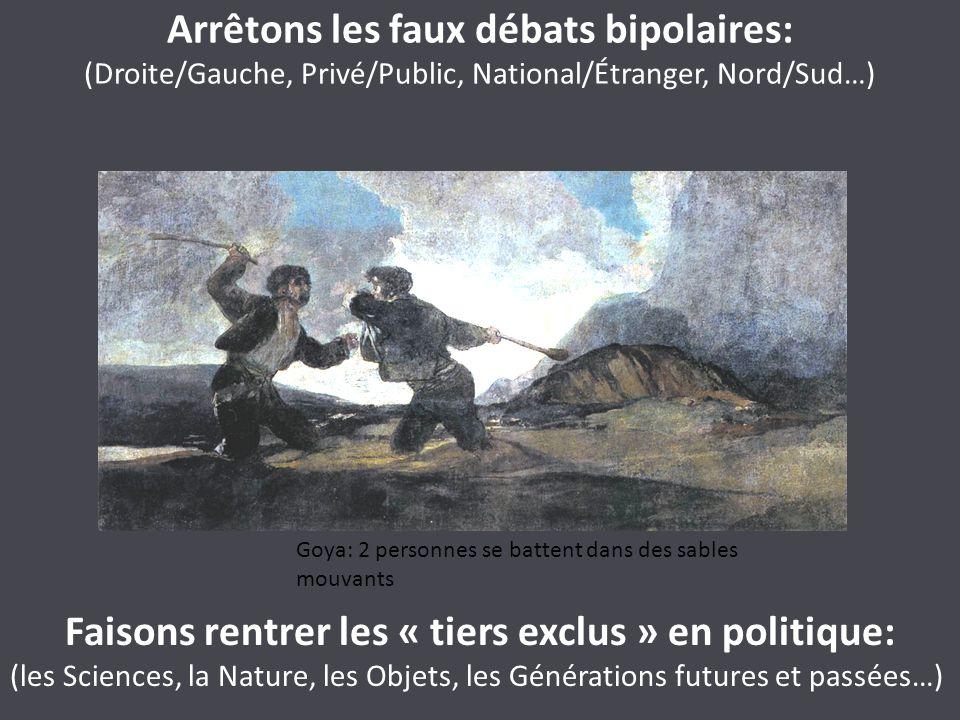 Arrêtons les faux débats bipolaires: