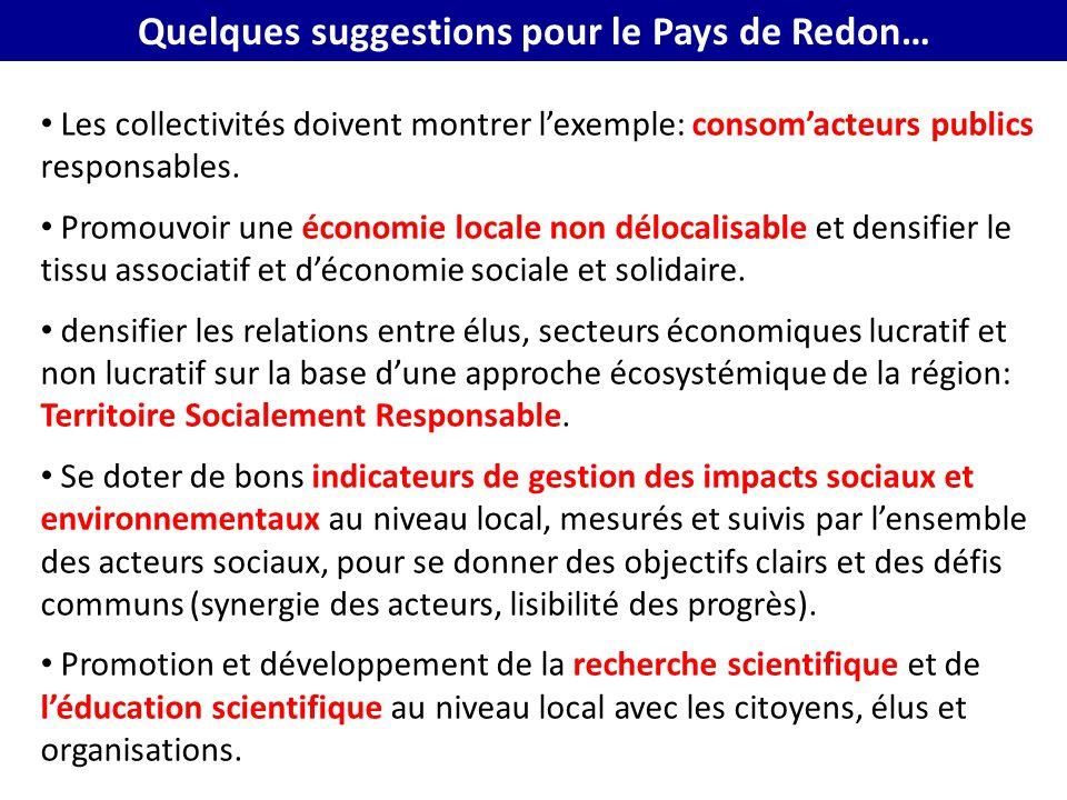 Quelques suggestions pour le Pays de Redon…
