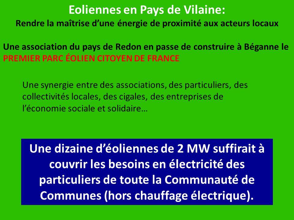 Eoliennes en Pays de Vilaine: