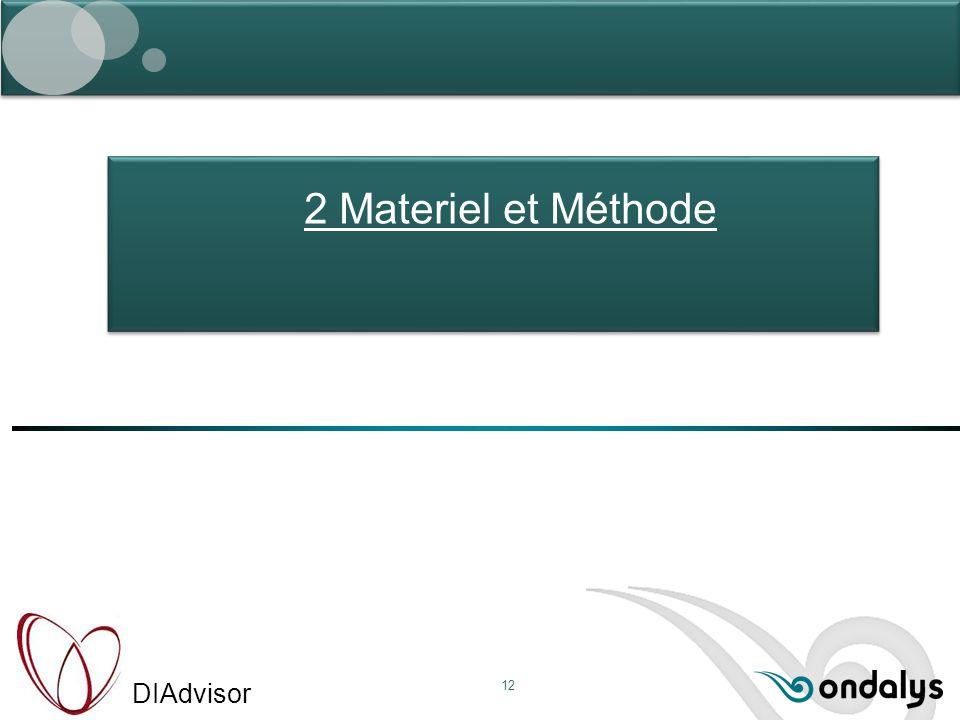 2 Materiel et Méthode