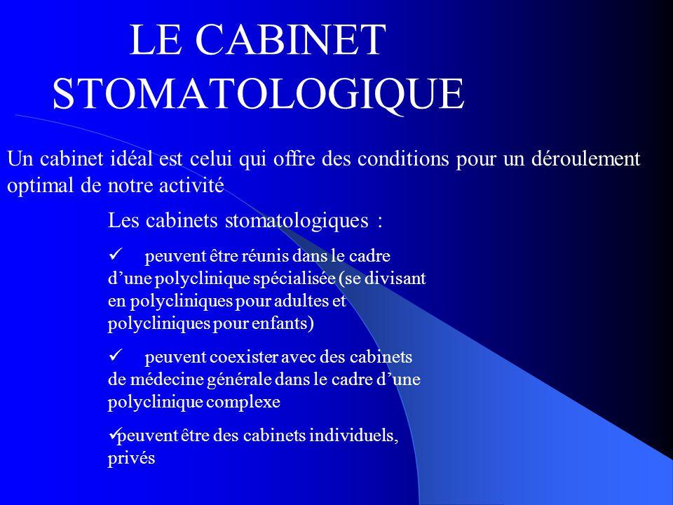 LE CABINET STOMATOLOGIQUE